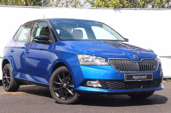 SKODA FABIA 5dr Hat 1.0 MPi 75ps Colour Edition